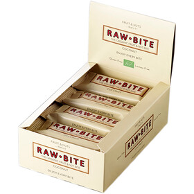 RAWBITE Riegel Box 12x50g Kokosnuss